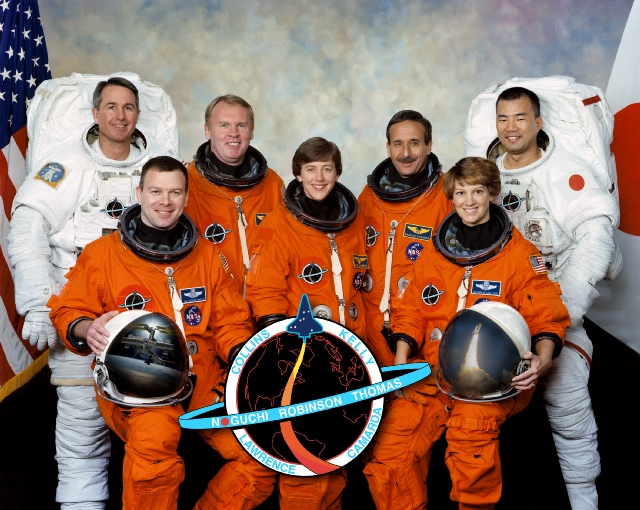 The STS-114 crew.