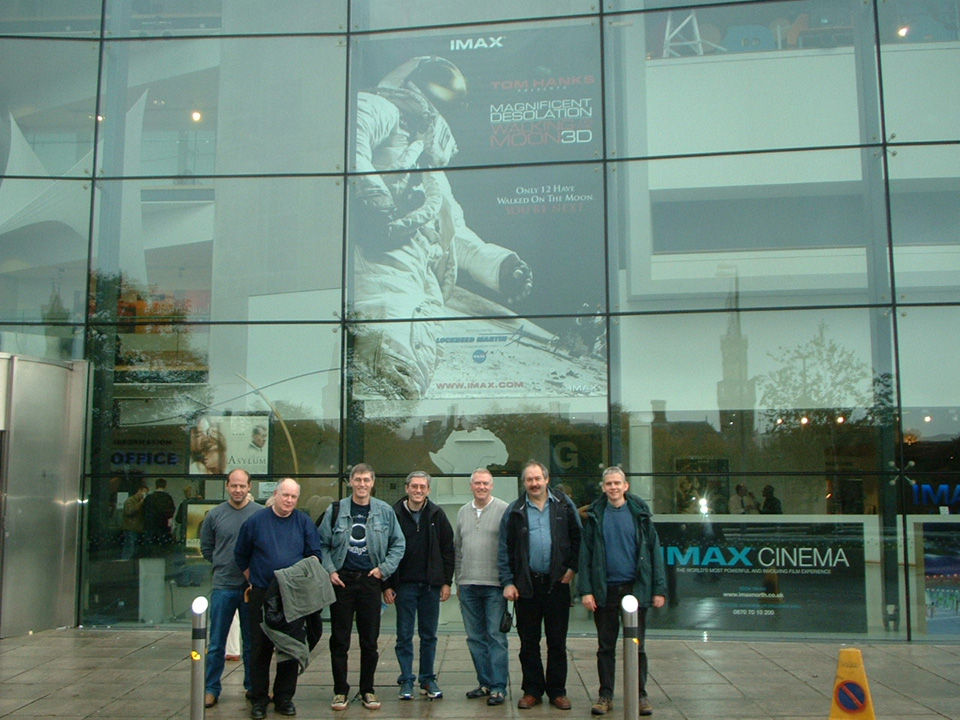 DDAS members outside the National Museum of Film, Photography and Television in Bradford